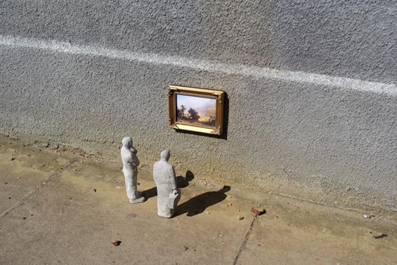 Минијатурна цементна уметност