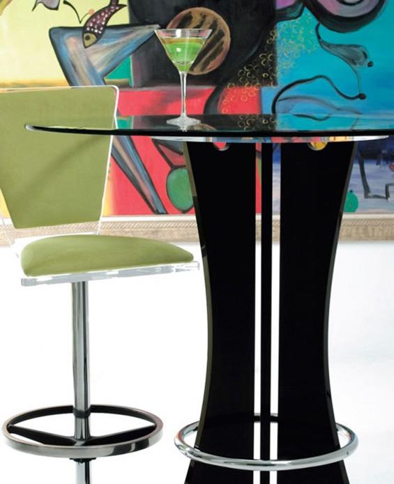 Колоритни стаклени масички за тренди дом