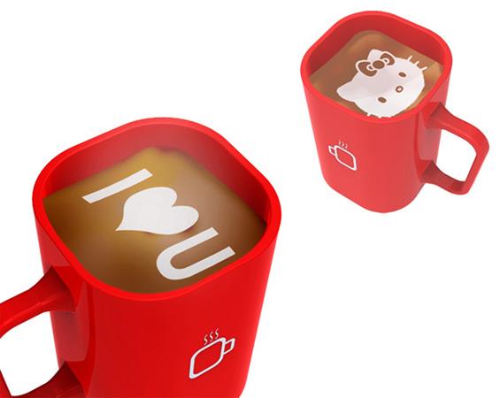 iCoffee – кафемат и печатач за пена во едно