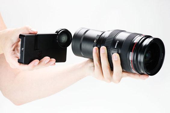 Ајфон додаток за оптички леќи