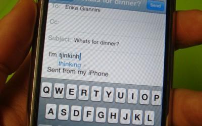 Смешни грешки при куцање СМС пораки