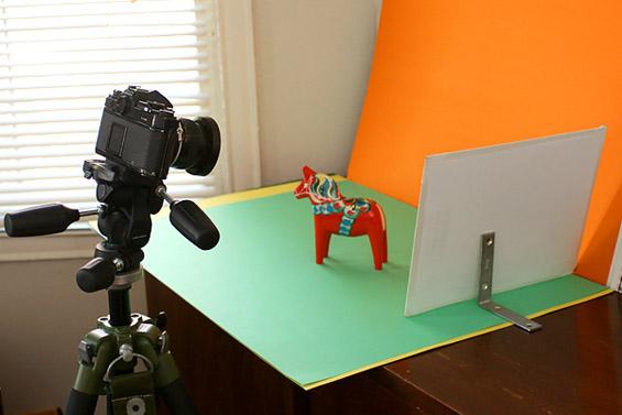 Како да си направите домашно фото студио?