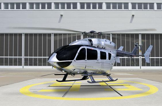 Хеликоптер изработен во соработка со Мерцедес
