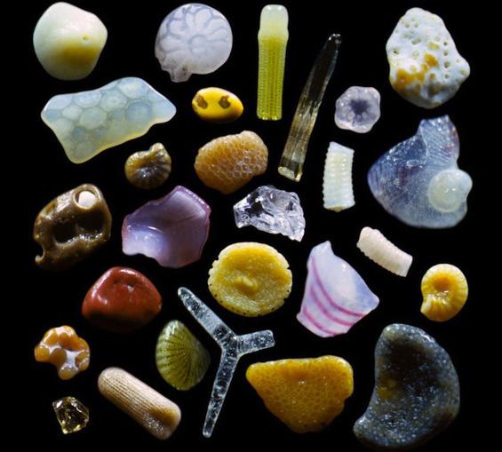 Како изгледа зрно песок, кога ќе се зголеми за 250 пати?