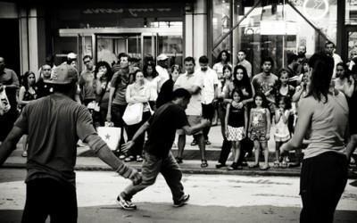 Уличните изведувачи во Њујорк