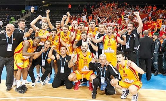 Победнички мисли посветени на македонската кошаркарска репрезентација