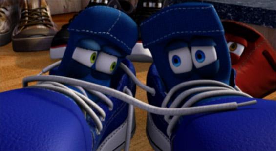 Чевлите на еден страшен човек