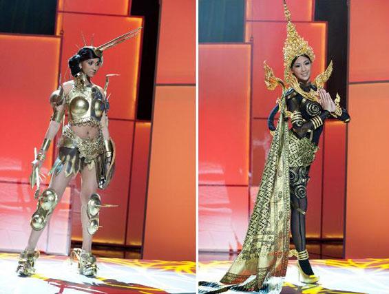 "Најубавите национални костими на ""Мис Универзум 2011"""