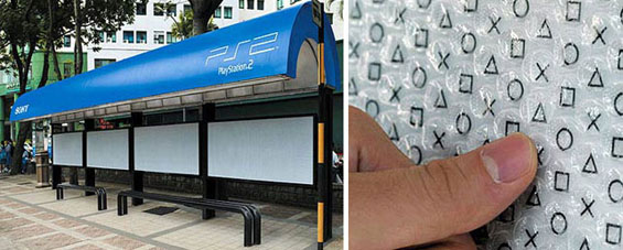 Автобуски станици искористени во креативни маркетинг кампањи
