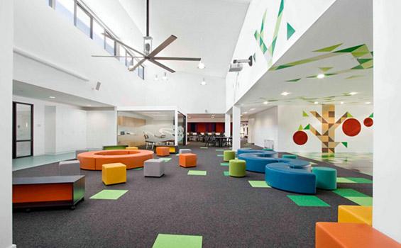 Шарено училиште за подобрување на расположението на учениците