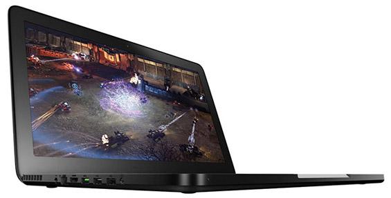 Ултратенок гејмерски лаптоп со LCD-тачпад