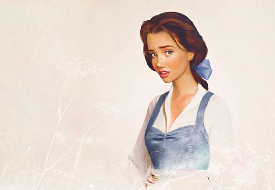 Принцезите од цртаните филмови на Дизни во реалниот свет