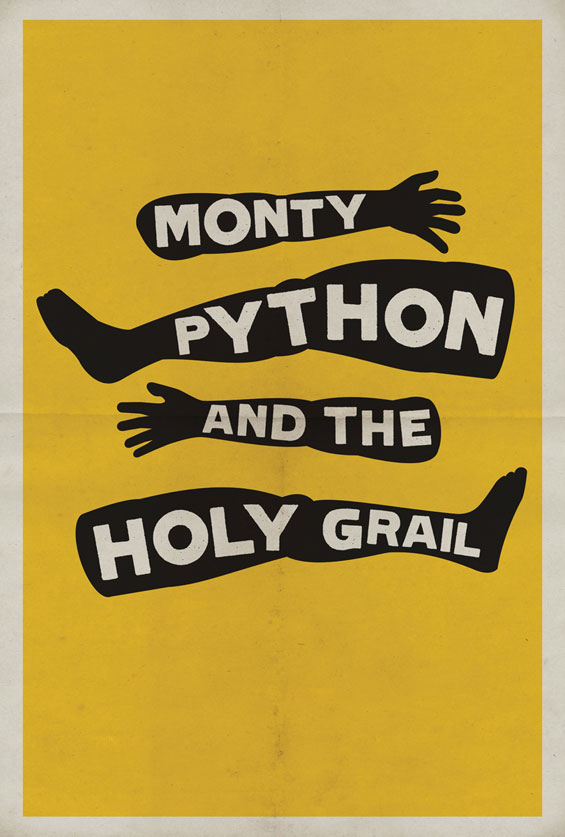 Минималистички филмски постери