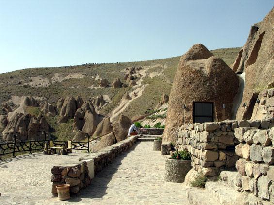 Пештерско село во Иран