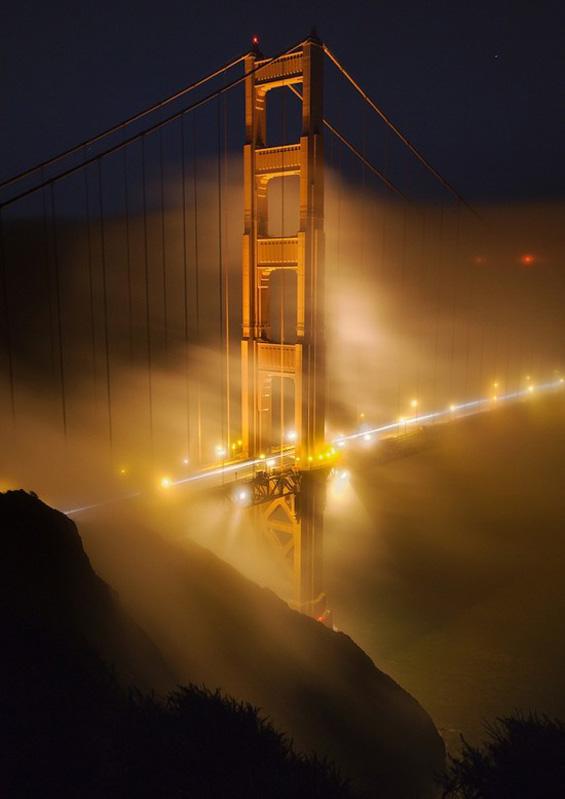 Сан Франциско под магла
