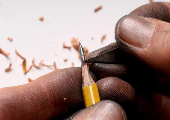 Уметност на врвот од моливот