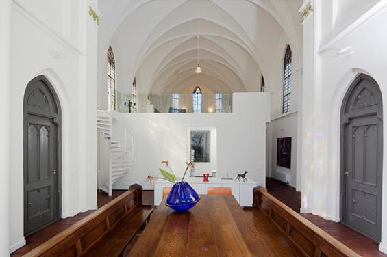 Некогаш цркви, денес модерни куќи