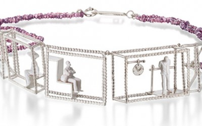 Уникатен и модерен накит кој го претставува секојдневното