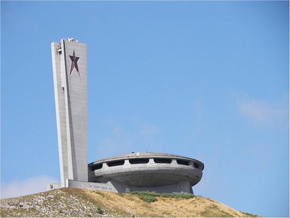 Напуштениот комунистички споменик во Бугарија