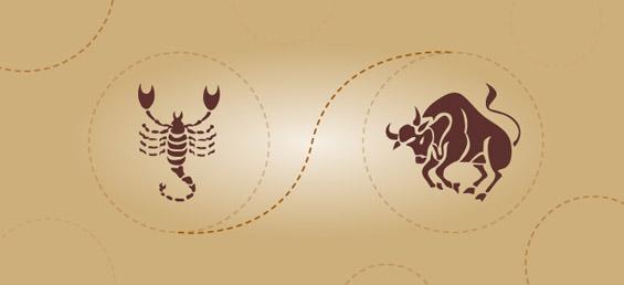Скорпија и бик – пријателска комбинација