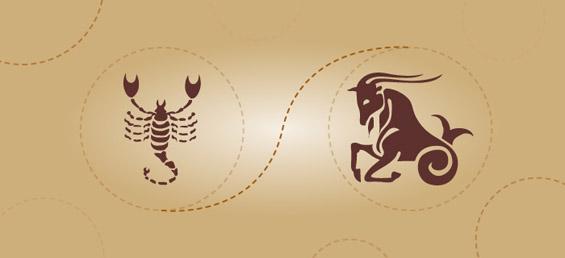 Скорпија и јарец - пријателска комбинација