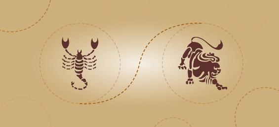 Скорпија и лав – пријателска комбинација