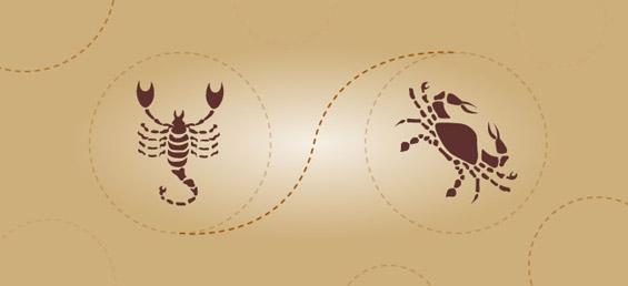 Скорпија и рак – пријателска комбинција