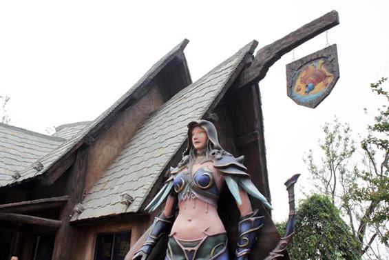 "Забавен парк инспириран од ""World of Warcraft"" и ""Starcraft"""