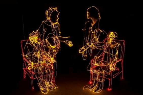Иновативни светлечки фотографии