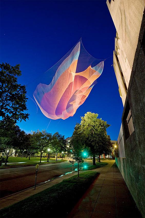 Вонземски летечки скулптури