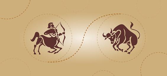 Стрелец и бик - пријателска комбинација