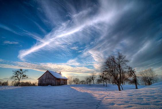 Чудесни небесни покривки