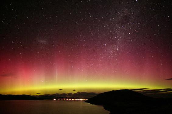Аурора аустралис - јужни светлини