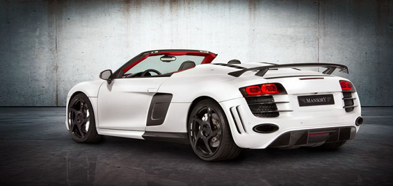 "Фантастично тјуниран ""Audi Spyder"""