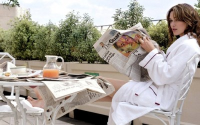 Како да свртите страна од весник?