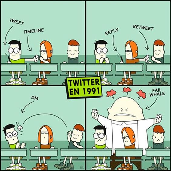 """Како изгледаше """"Твитер"""" во 1991 година"""