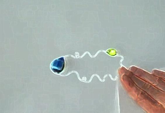 Струјни кола изработени од хартија, пенкало и магнети
