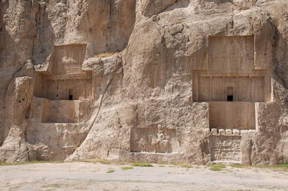 Гробниците на персиските фараони