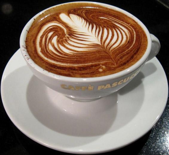 Интересни дизајни на површината на кафето