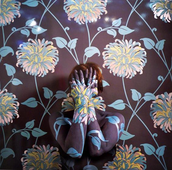 Автопортрети слеани со позадината
