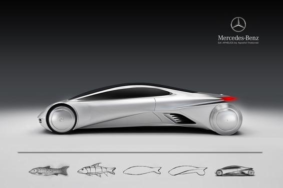 """Македонски дизајн за """"Мерцедес"""" инспириран од охридската пастрмка"""
