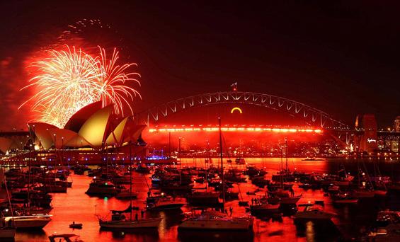 Спектакуларниот дочек на 2012 ширум светот