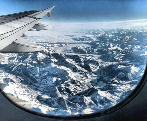 Фасцинантни глетки од авион