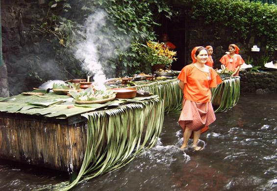 Ресторан под водопади