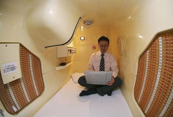 Неверојатно мали хотелски соби