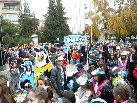 Викенд-забава за деца на скопското лизгалиште