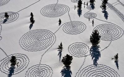 Цртежи во снег