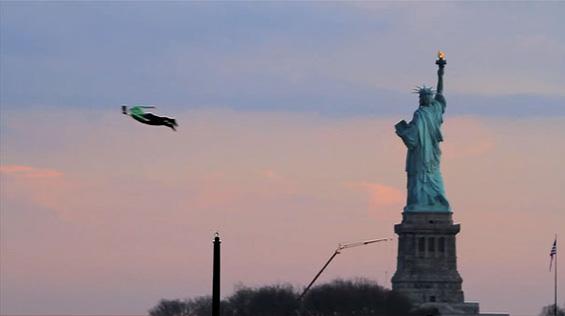 Летачи над Њујорк