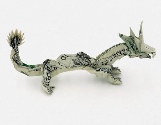 Манигами – уметност со банкноти