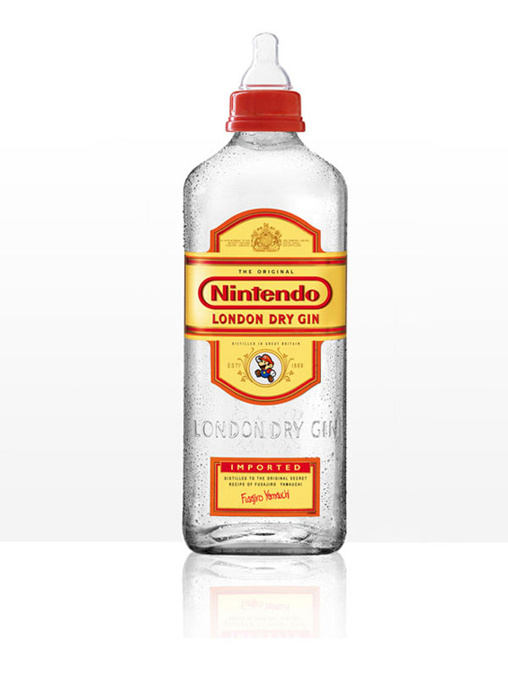 Алкохолни шишиња претворени во бебешки цуцли